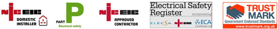 MB Electrical, Bolton - Our Accreditations & Memberships